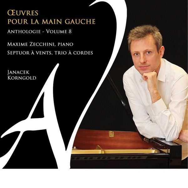 Maxime Zecchini - Œuvres pour la main gauche - Anthologie, Vol. 8