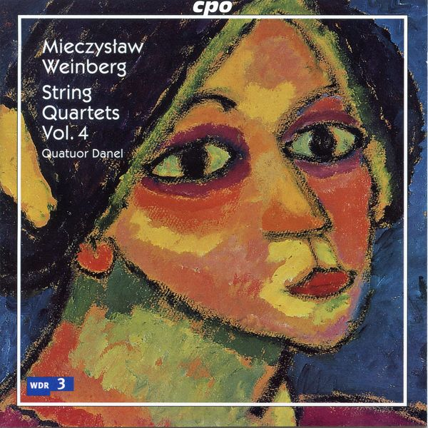 Quatuor Danel - Weinberg: String Quartets, Vol. 4
