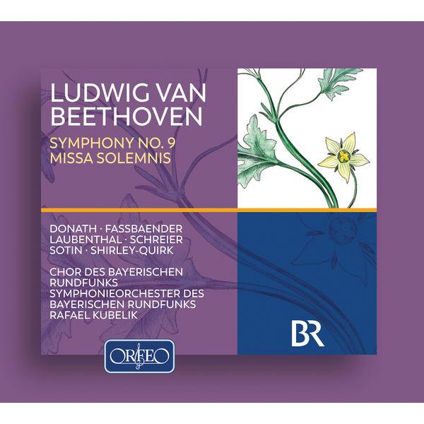 Symphonieorchester Des Bayerischen Rundfunks - Beethoven: Symphony No. 9 in D Minor, Op. 125 & Missa solemnis, Op. 123 (Live)