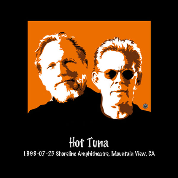 Hot Tuna - 1998-07-25 Shoreline Amphitheatre, Mountain View, CA