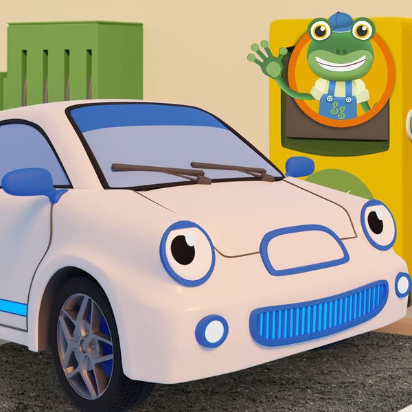 Gecko's Garage & Toddler Fun Learning - Evie the Electric Car Song