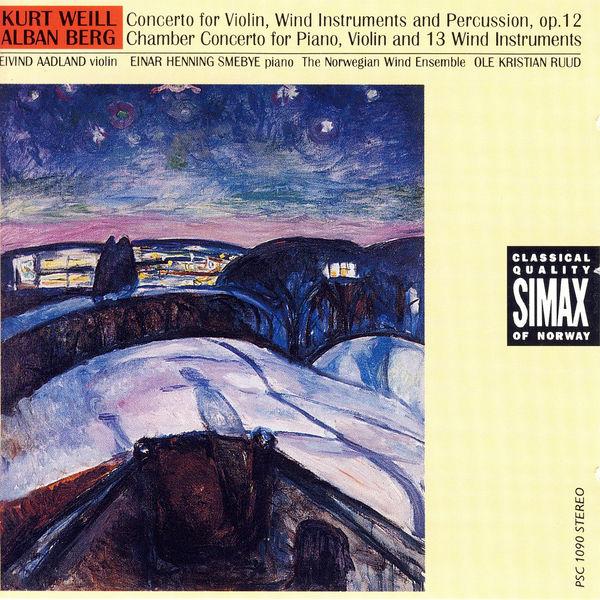Eivind Aadland - Kurt Weill / Alban Berg: Concertos