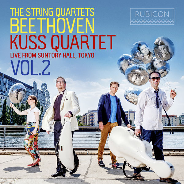 Kuss Quartet - Beethoven: The String Quartets, Live from Suntory Hall, Tokyo, Vol. 2