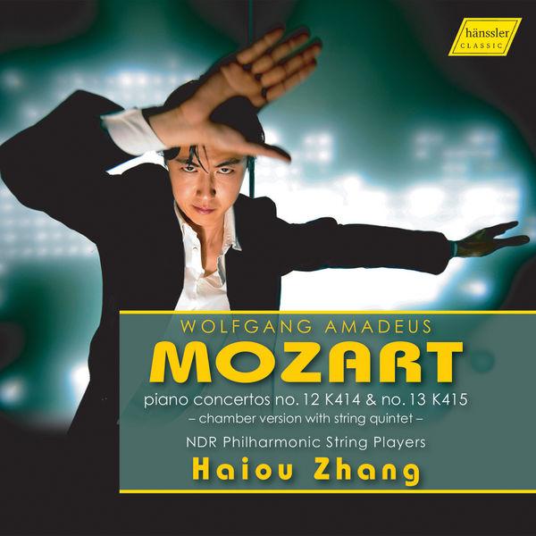 Haiou Zhang - Mozart: Piano Concertos Nos. 12 & 13 (Arr. I. Lachner)