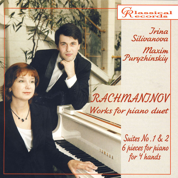 Irina Silivanova - Rachmaninov. Works for piano duet