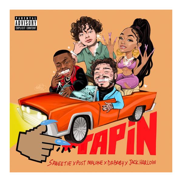 Post Malone - Tap In (feat. Post Malone, DaBaby & Jack Harlow)