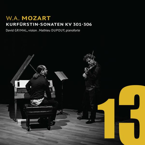 David Grimal - Mozart: Kurfürstin-Sonaten K. 301 - K. 306