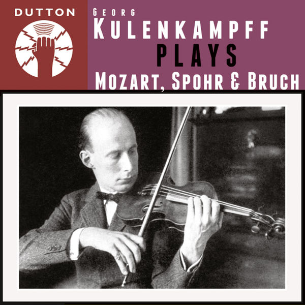 Georg Kulenkampff - Kulenkampff Plays Mozart, Spohr & Bruch