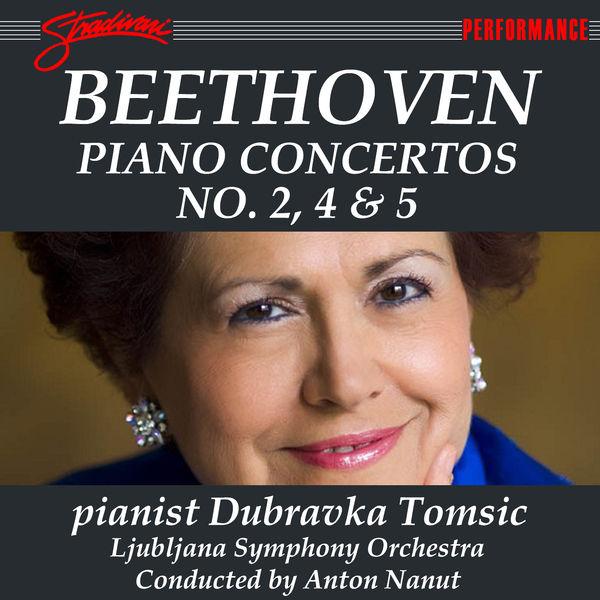 Ludwig van Beethoven - Beethoven: Piano Concertos Nos. 2, 4 & 5