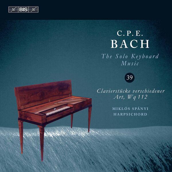 Miklós Spányi - C.P.E. Bach: The Solo Keyboard Music, Vol. 39