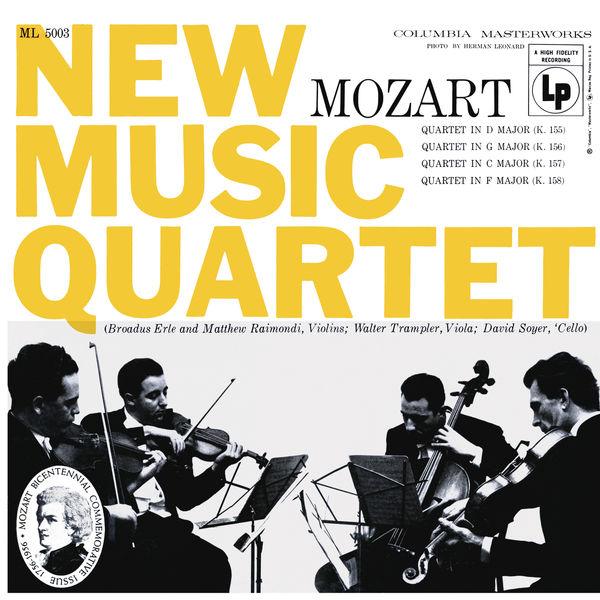 New Music String Quartet - Mozart: String Quartets (Remastered)