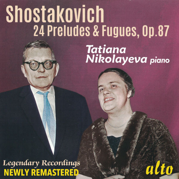Tatiana Nikolayeva - Shostakovich: 24 Preludes and Fugues - Nikolayeva