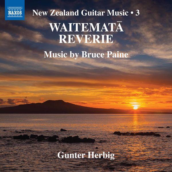 Gunter Herbig - New Zealand Guitar Music, Vol. 3