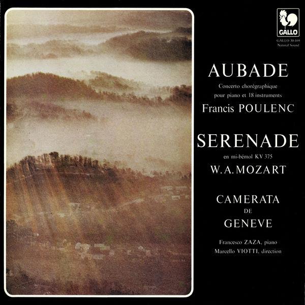 Francesco Zaza - Poulenc: Aubade, FP 51 - Mozart: Serenade No. 11 in E-Flat Major, K. 375