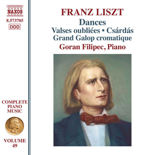 Goran Filipec - Liszt: Dances