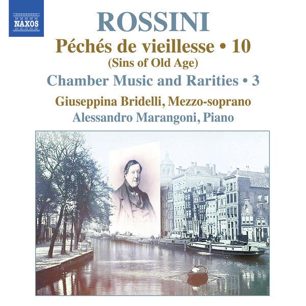 Giuseppina Bridelli - Rossini: Piano Music, Vol. 10
