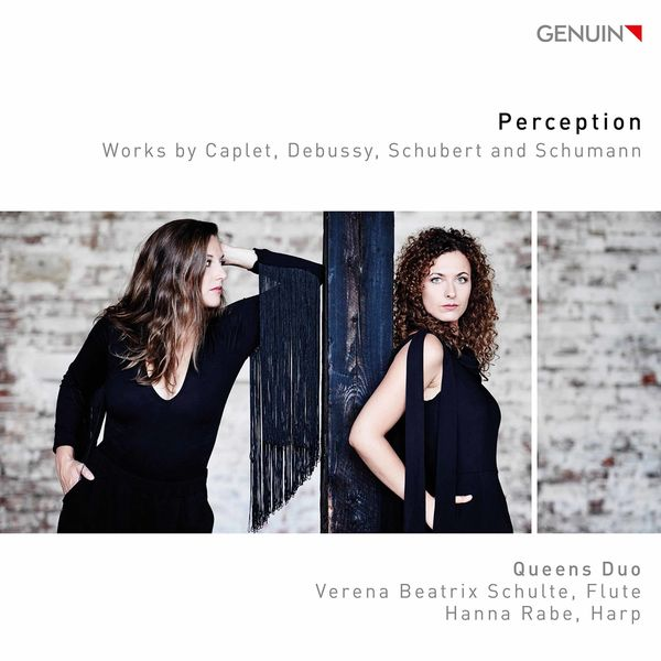 Queens Duo - Perception: Works by Caplet, Debussy, Schubert & Schumann