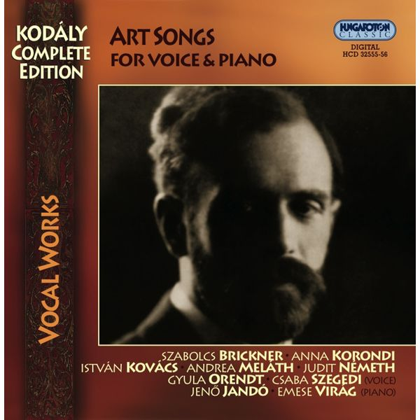 Andrea Melath - Kodaly, Z.: Vocal Music (Complete Edition - Art Songs)