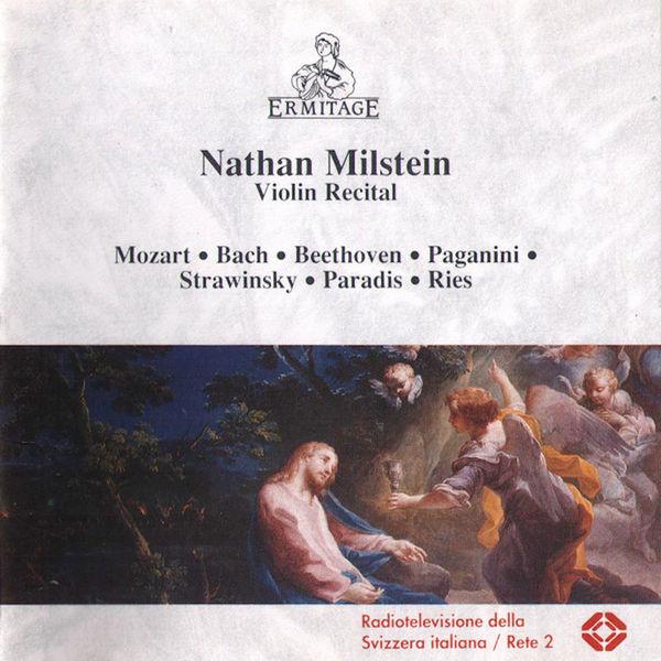 Nathan Milstein - Nathan Milstein - Violin Recital