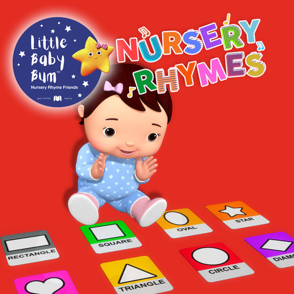 Little Baby Bum Nursery Rhyme Friends - Shapes Song, Pt. 4