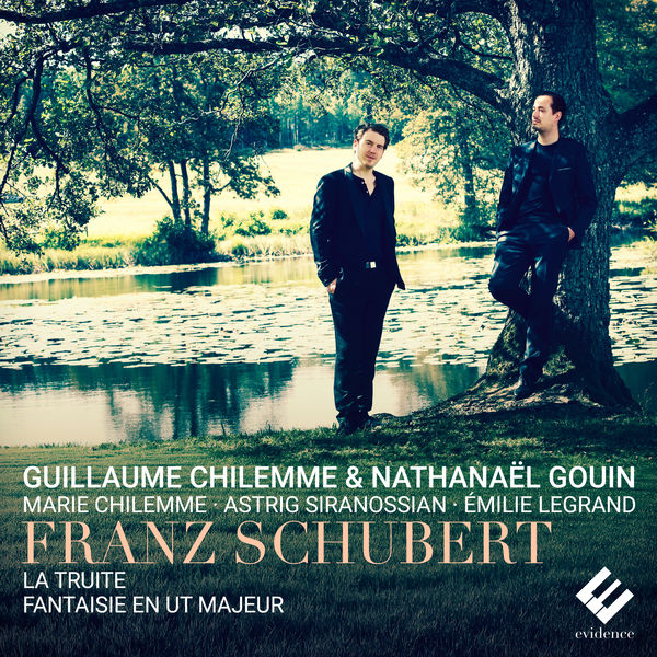 "Nathanaël Gouin - Schubert: Piano Quintet ""The Trout"", D. 667 & Fantasy in C Major, D. 934"
