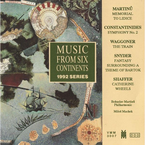 Bohuslav Martinů - Music from 6 Continents (1992 Series)