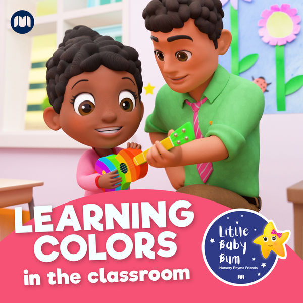 Little Baby Bum Nursery Rhyme Friends - Learning Colours in the Classroom