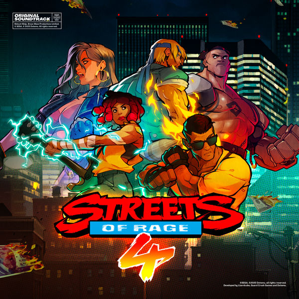 Olivier Derivière - Streets of Rage 4 (Original Game Soundtrack)