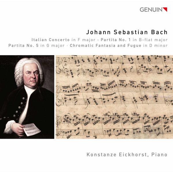 Konstanze Eickhorst - J.S. Bach: Keyboard Works