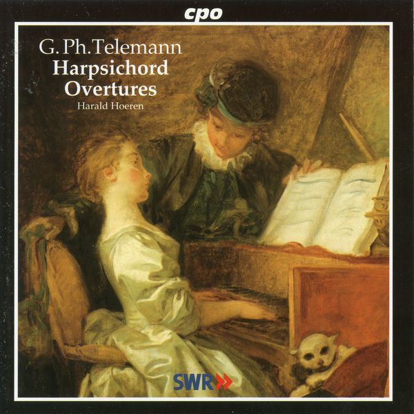 Harald Hoeren - Telemann: Harpsichord Overtures