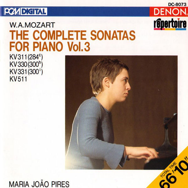 Maria João Pires - Mozart: The Complete Sonatas for Piano, Vol. 3