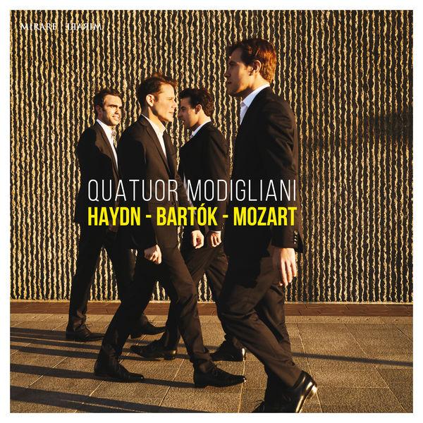 Quatuor Modigliani|Haydn - Bartók - Mozart