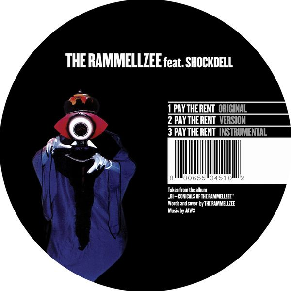 The Rammellzee - Pay the Rent