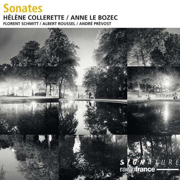 Hélène Collerette|Schmitt, Roussel, Prévost : Sonates