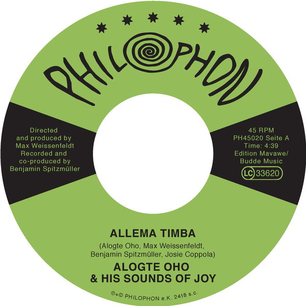 Alogte Oho & His Sounds of Joy - Allema Timba