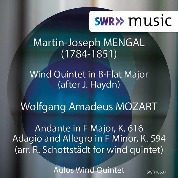 Aulos Wind Quintet - Mengal & Mozart: Chamber Music (Live)