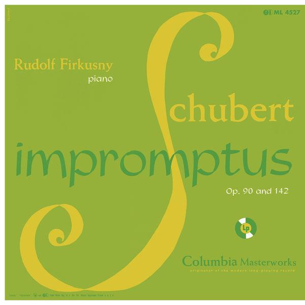 Rudolf Firkusny - Schubert: Impromptus, D. 899, Op. 90 & D. 935, Op. 142 (Remastered)