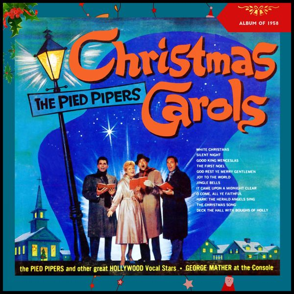 Various Artists - Favorite Christmas Carols- The Pied Pipers and Other Great Hollywood Vocal Stars (Album of 1958)