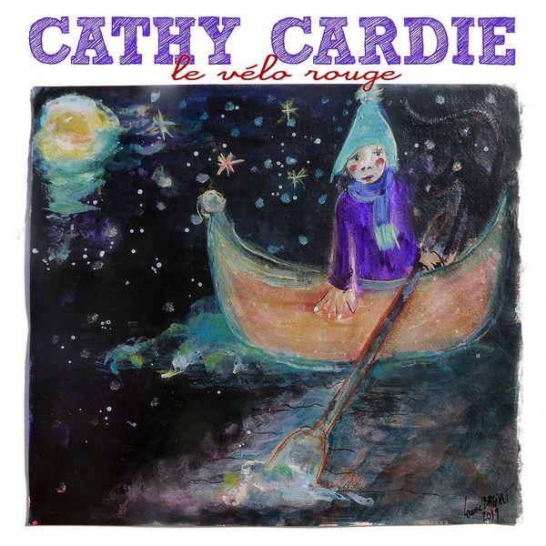 Cathy Cardie - Le vélo rouge