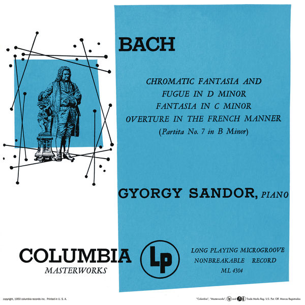 Gyorgy Sandor - Bach: Chromatic Fantasy and Fugue & Fantasia & Partita in B Minor (Remastered)