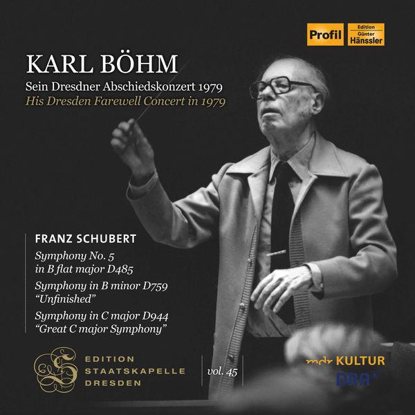 Staatskapelle Dresden - Edition Staatskapelle Dresden, Vol. 45: Karl Böhm's Dresden Farewell Concert in 1979 (Live)