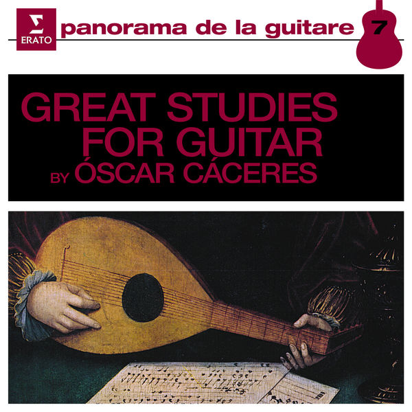 Oscar Caceres - Great Studies for Guitar, Vol. 1
