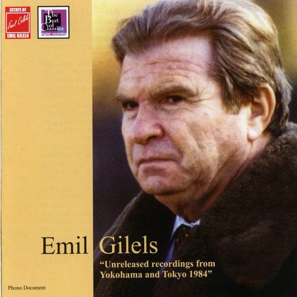 Emil Gilels - Brahms, Schumann & Mendelssohn: Piano Works (Live)