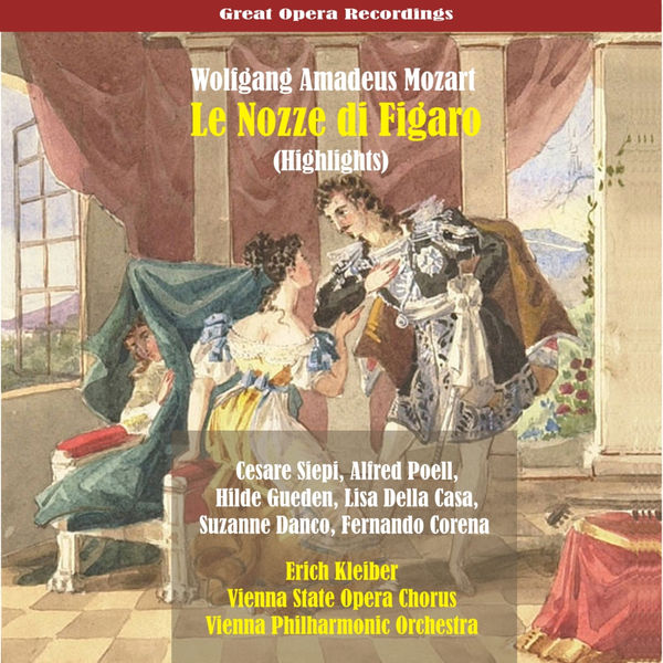 Erich Kleiber - Mozart: Le Nozze di Figaro [1955] (Highlights)