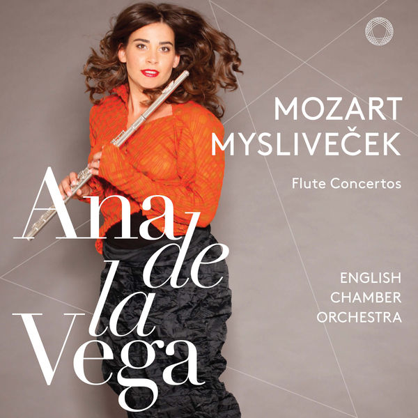 Ana de la Vega - Mozart & Mysliveček: Flute Concertos
