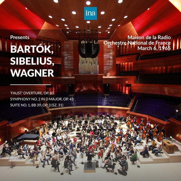Orchestre National de France - INA Presents: Bartók, Sibelius, Wagner by Orchestre National de France at the Maison de la Radio