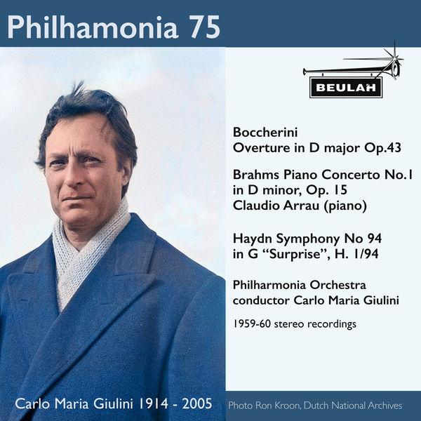 Carlo Maria Giulini - Philharmonia 75 Carlo Maria Giulini