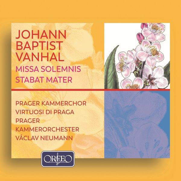Prager Kammerchor - Vanhal: Missa Solemnis in E-Flat Major, Stabat Mater in F Major & Symphony in D Major, Bryan D4
