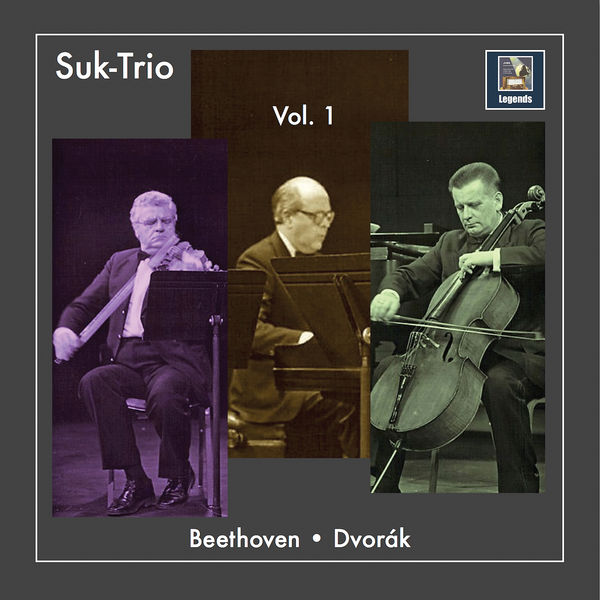 The Suk-Trio - The Suk-Trio, Vol. 1: Beethoven & Dvořák Piano Trios