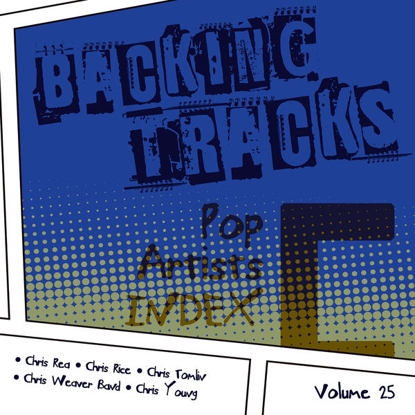 BT Band - Backing Tracks / Pop Artists Index, C, (Chris Rea / Chris Rice / Chris Tomlin / Chris Weaver Band / Chris Young), Vol. 25